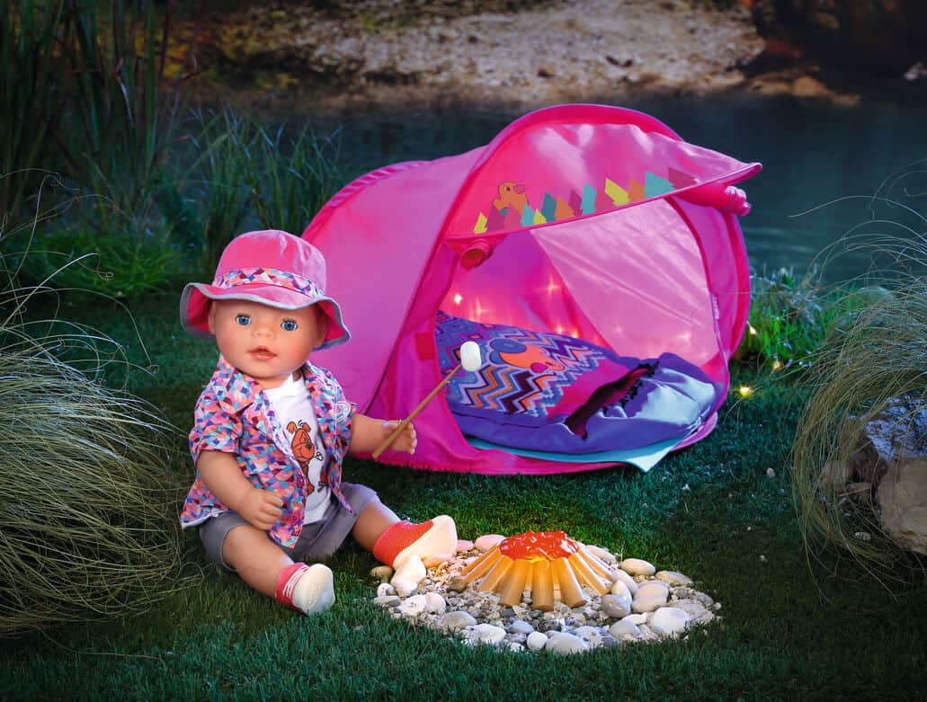 Baby Born Interactive Doll Amp Camping Set Amp Outfit Giveaway